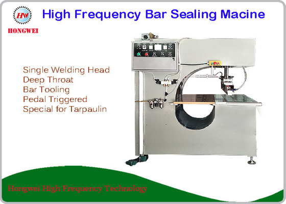 China Deep Throat Type High Frequency Sealing Machine For Tarpaulin Bonding supplier
