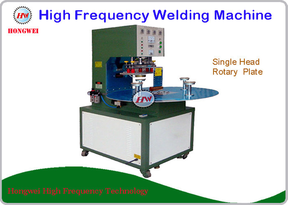 China High Frequency Rotary Welding Machine With Single Head Rotary Table supplier