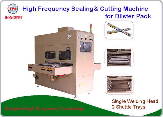 Pneumatics Driven High Frequency Blister Packing Machine With Shuttle Tray