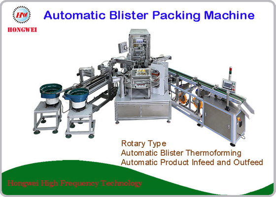 Rotary Blister Thermoforming Machine For Air Refresher
