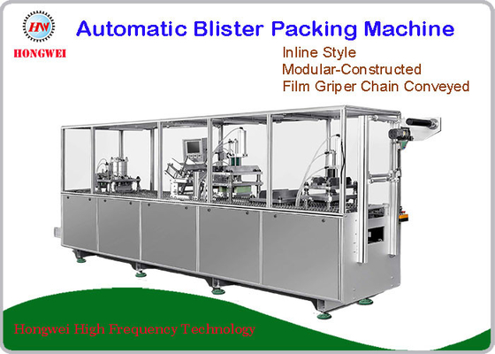 China 15KW Automatic Blister Packing Machine For Oral Healthcare Products Packaging supplier