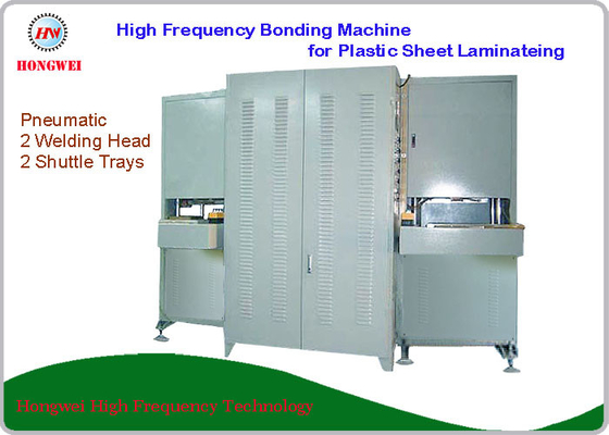 China Plastic Sheet High Frequency Laminating Machine Vertical Push Slide Construction supplier