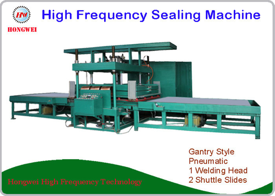 2 Shuttle Slides High Frequency Sealing Machine For Hospital Mattress