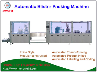 High Speed Automatic toothbrush blister packing machine
