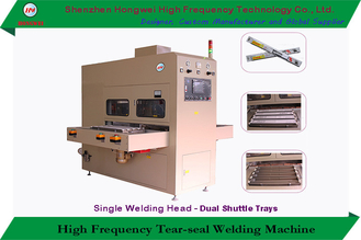 High Frequency Tear-Seal Welding Machine with Shuttle Tray for Sun Visor and Windshield Wipper Blade