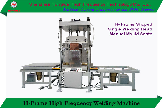 High Frequency Welding Equipment Compressed Air 0.5-0.6 Mpa H Frame