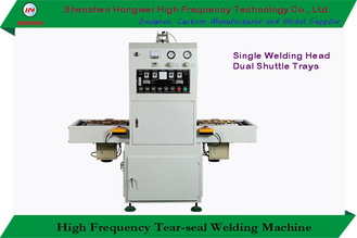 Galvanized Steel High Frequency Welding Machine HF Heating Peneumatics Servo Motor