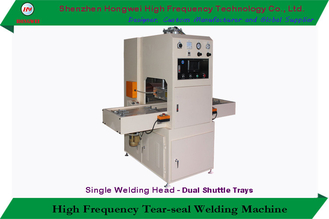 Shuttle Tray High Frequency Welding Machine Hf Cutting Sealing Fully Closed Enclosure