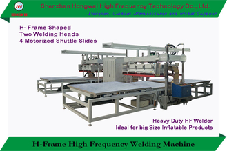 H Frame Dielectric High Frequency Sealing Machine Compressed Air Supply 27.12 Mhz