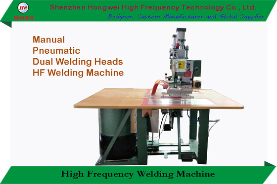 Pedal Triggered High Frequency Plastic Welding Machine Desk Top For Blister Pack