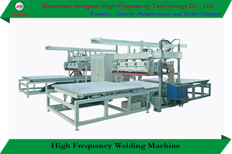 Dielectric Heat Sealing High Frequency Welding Machine 4 Shuttle Slides 27.12 Mhz