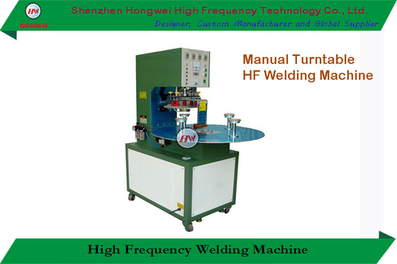 Rotary High Frequency Welding Machine Semi Automatic With Single Head Rotary Table