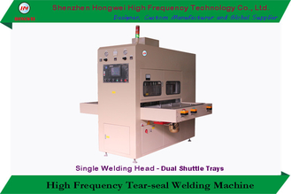 China Semi Automatic High Frequency Plastic Welding Machine HF Heating For Blister Pack supplier