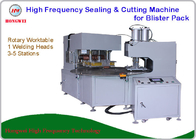 China Dual Head Rotary HF Sealing and Cutting Machine for Tools and Household Appliance Clamshell/Blister Pack factory