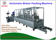 380V/50 Hz Automatic Blister Packing Machine With Labelling Machine
