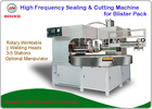 Rotary High Frequency Blister Packing Machine Sealing Cutting For Blister Pack