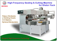 China 2 Welding Head Clamshell Sealing Machine , High Frequency Sealing Machine factory