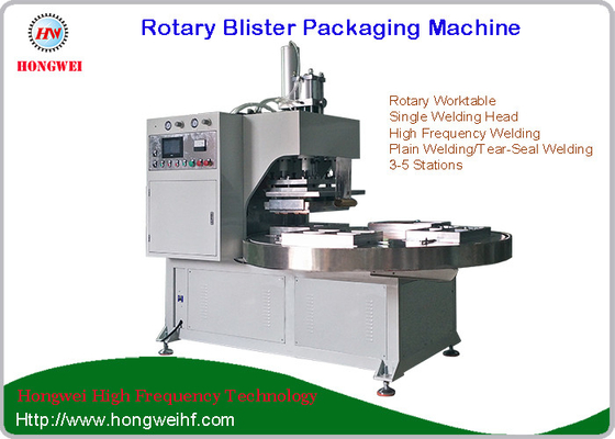 China Durable Blister Packing Machine Galvenized Steel / Alluminum Alloy Material distributor